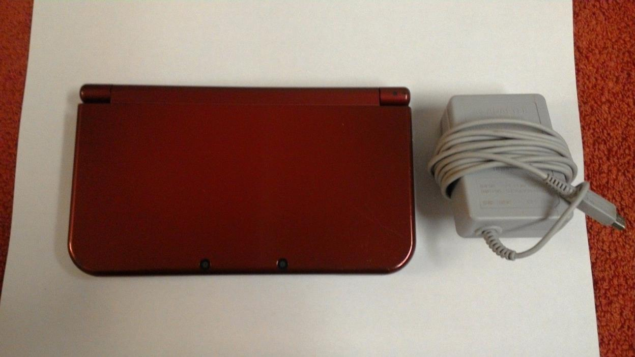 New Nintendo 3DS XL Red System
