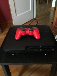 120gb PS3 Slim w/ Controller and Power Cord