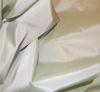 Scalamandre 100% Silk Taffeta Pistachio Caribbean Silk Smooth Finish Lg Remnant