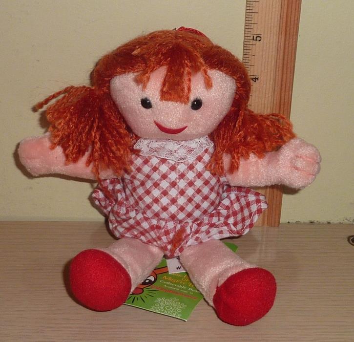 1998 CVS Stuffins Rudolph Island of Misfit Toys Beanbag Plush ~ Dolly Sue
