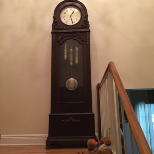 Astrological Antique Grandfather Clock