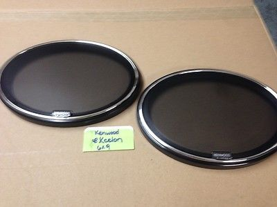 Kenwood Excelon 6X9 SPEAKER GRILLS NEW