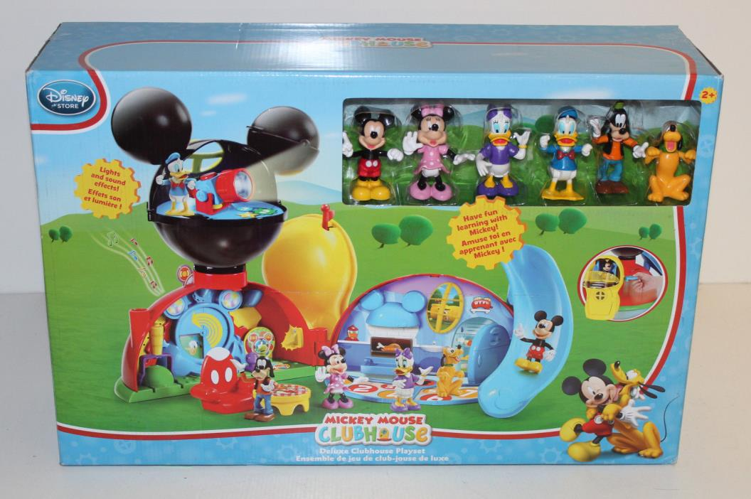 Disney Mickey Mouse Clubhouse Deluxe Clubhouse Playset - Damaged Box