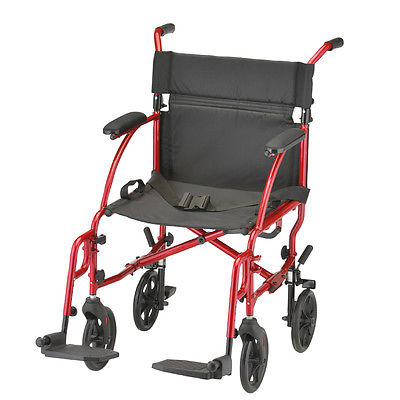 Ultralight Transport Chair - Red