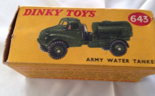 Dinky Army Water Tanker