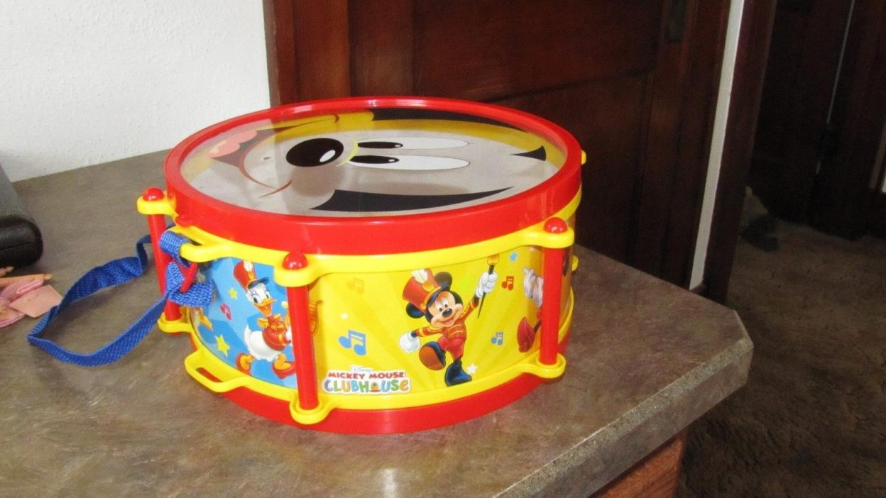 Disney Mickey Mouse Clubhouse Percussion Mickeys Party Band Drum