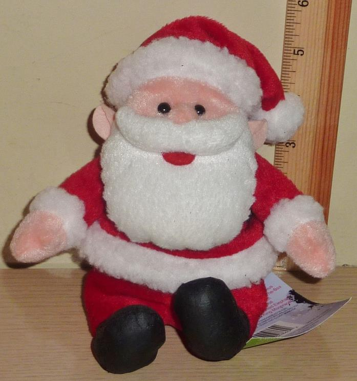 1998 CVS Stuffins Rudolph Island of Misfit Toys Beanbag Plush ~ Santa
