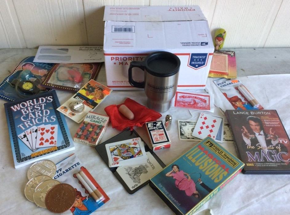 Huge Mixed Lot of Magic Tricks