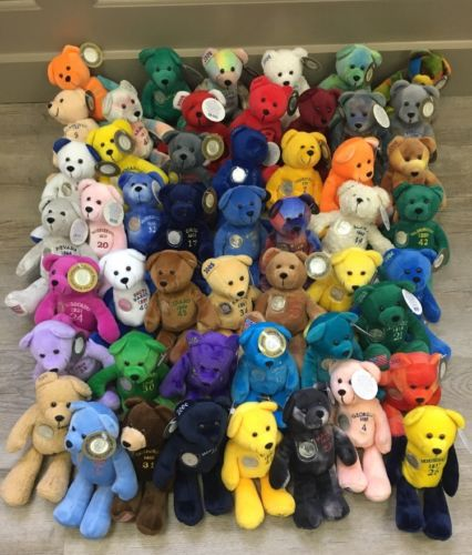Timeless Toys State Quarter Coin Bears Full Collection