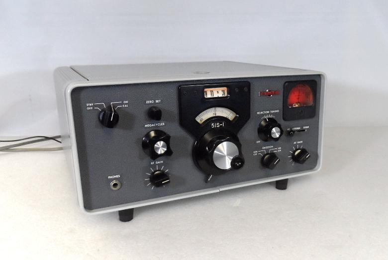 Collins 51S-1 Communications Receiver S/N 3422 in Excellent Cond & Repro Cabinet