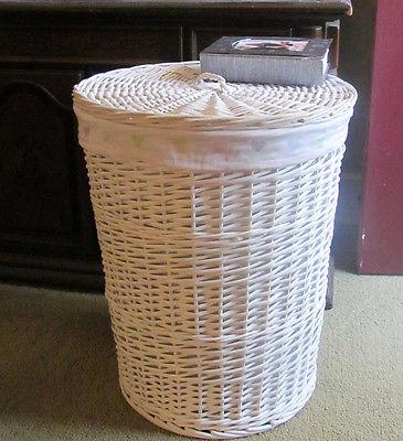 Laundry Basket W/Liner Storage Basket Collection Basket Large