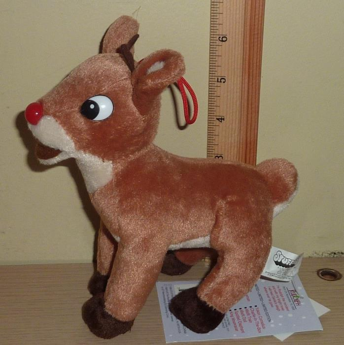 1998 CVS Stuffins Rudolph Island of Misfit Toys Beanbag Plush ~ Rudolph