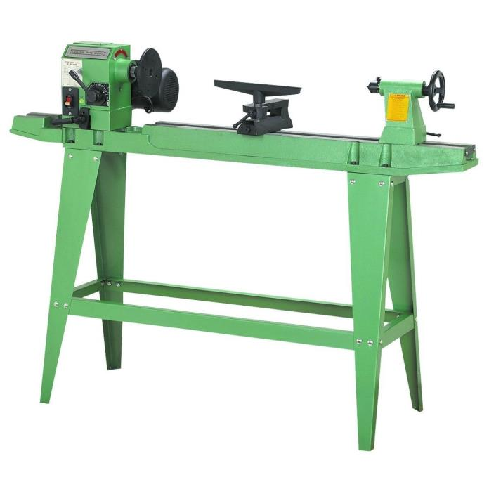 WOOD LATHE REVERSIBLE HEAD SHOP TOOLS 3/4 HP