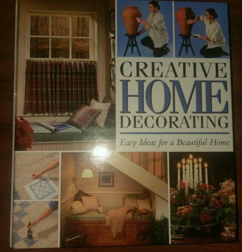Creative Home Decorating Book