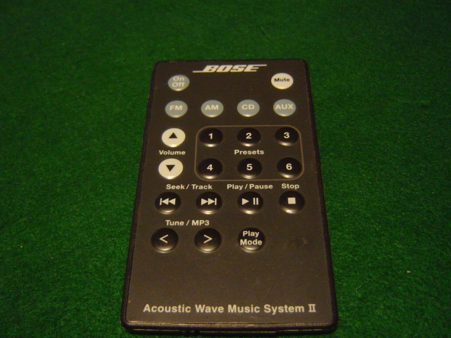 bose acoustic music system ii for sale classifieds. Black Bedroom Furniture Sets. Home Design Ideas