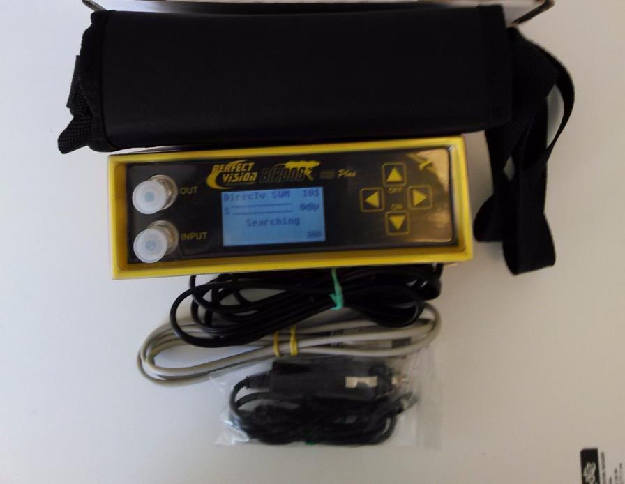 BIRDOG USB PLUS SATELLITE SIGNAL METER DIRECTV DISH FTA C/KU/KA BAND