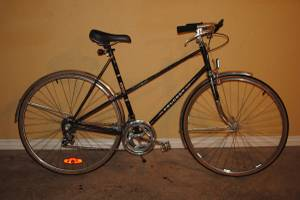 Peugeot Bike - Black, Vintage - Commuter Bike (Helena)