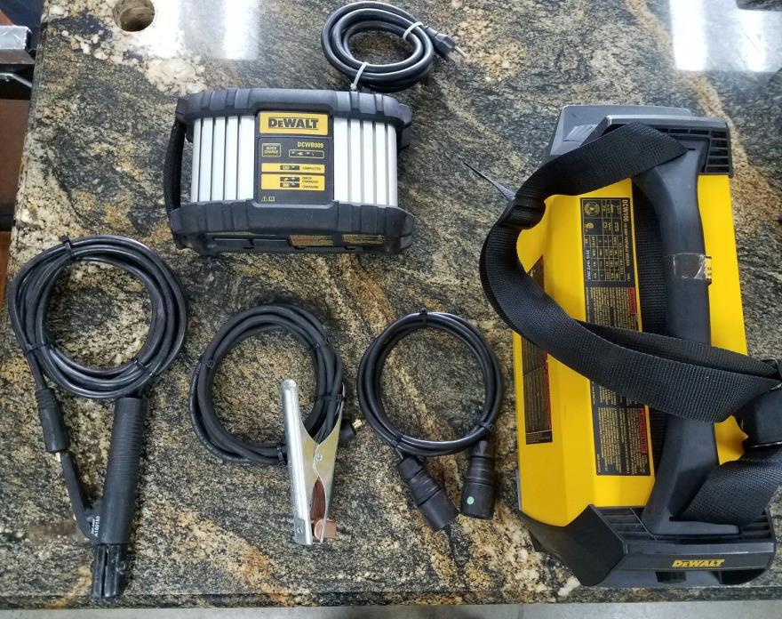 Dewalt DCW100K 140 Amp Portable Stick & TIG Welder