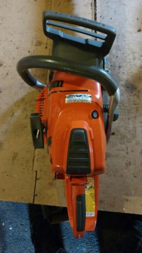 husqvarna chainsaw 550xp nice used saw