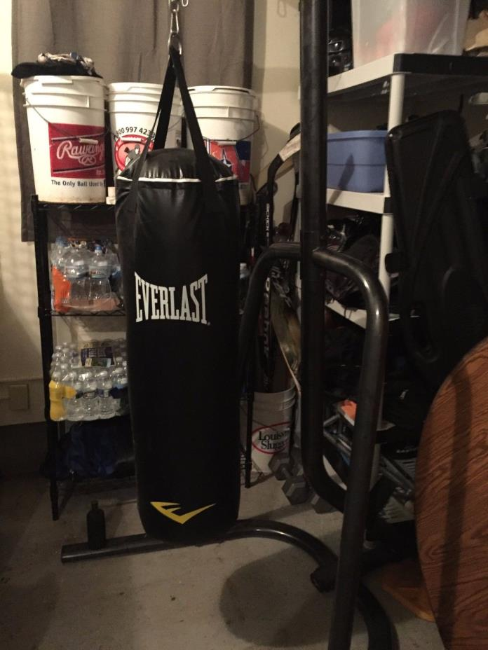 Everlast Punching Bag And Stand For Sale Classifieds