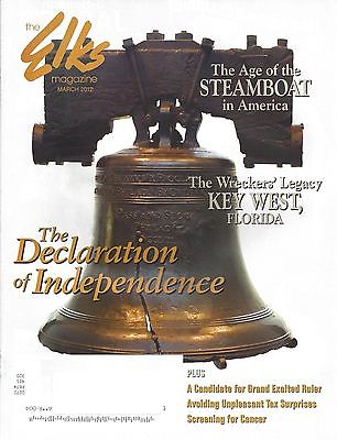 Elks Magazine Mar 2012 Declaration of Independence FAQs-Age of the Steamboat
