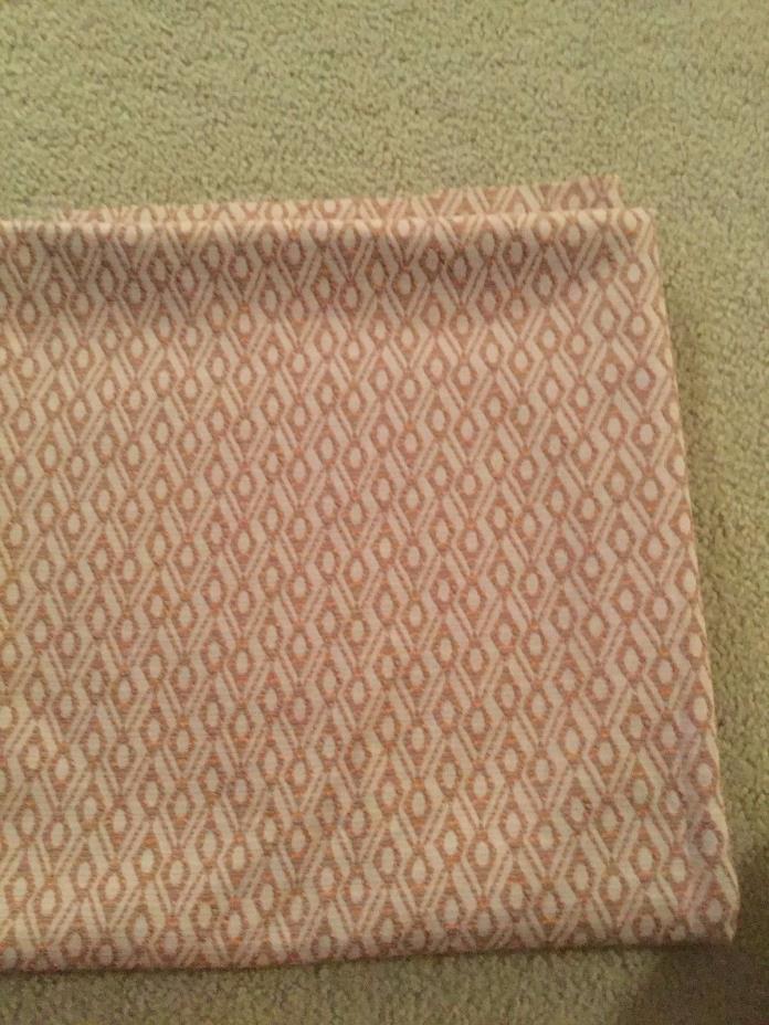 Vintage Double Knit Multi-Color Diamond Print Fabric 66