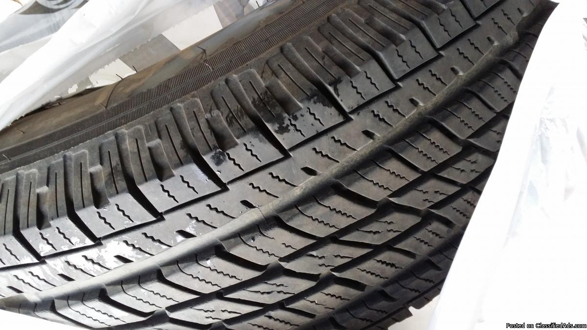 4 tires ,  P245/75R16, only5K on them