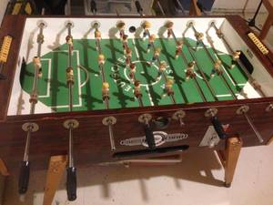 Deutscher Meister Foosball Table For Sale Modern Coffee Tables And - Deutscher meister foosball table
