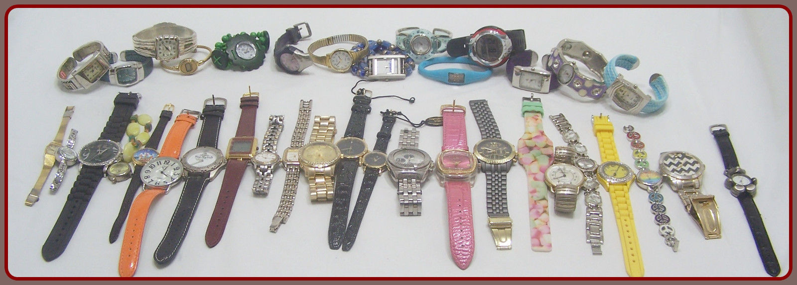 Watches Mixed lot Men's and women's Large Variety no 185