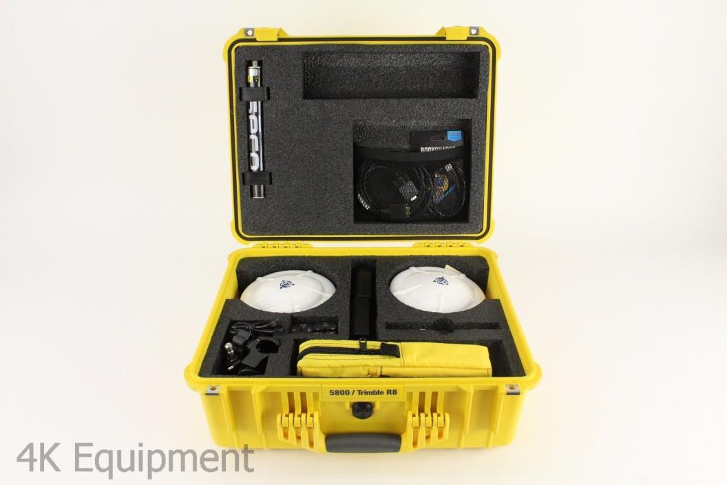 Trimble Dual SPS881 Base/Rover GPS GNSS Receiver Kit w/ TSC2, 900 MHz Radios