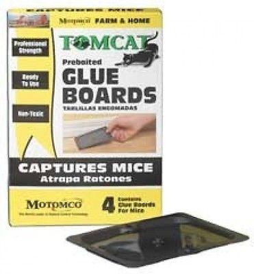 Durvet Motomco Tomcat Mice Glue Board 4 Pack - 32420-3. Huge Saving