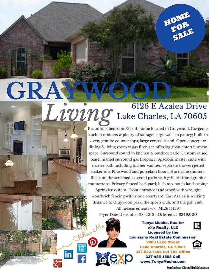 Graywood Home For Sale