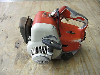 Stihl S10 Chainsaw s10 011 028 029 032 056 Vintage Chainsaw Top Handle Case