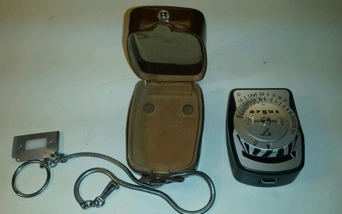 Argus L3 Vintage Light Meter