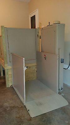 Bruno Wheelchair Elevator - Electric w/Battery Backup