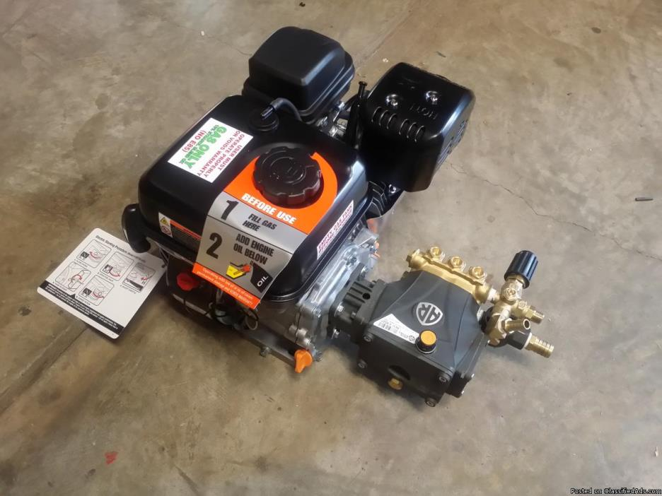 BRAND NEW 2800 PSI COMMERCIAL DUTY PRESSURE WASHER