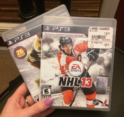 NHL PS3 Games: NHL 15, NHL 13