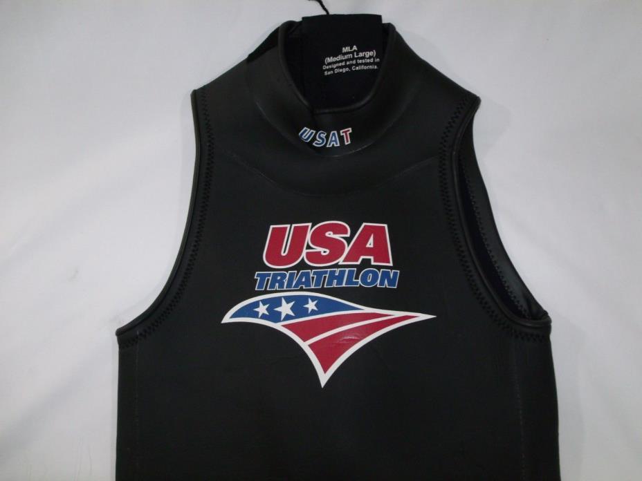 Revolt USAT Triathlon Wetsuit Womens Size Medium Large