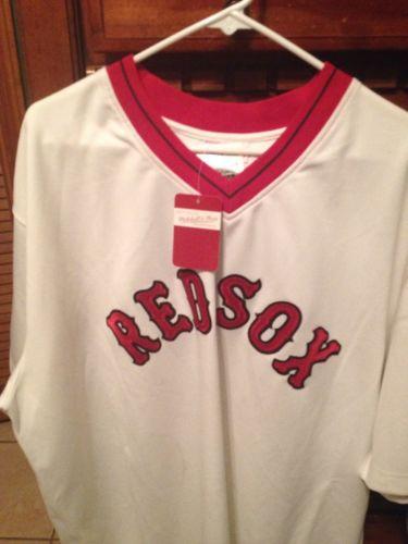 Mitchell & Ness Boston Red Sox Jersey