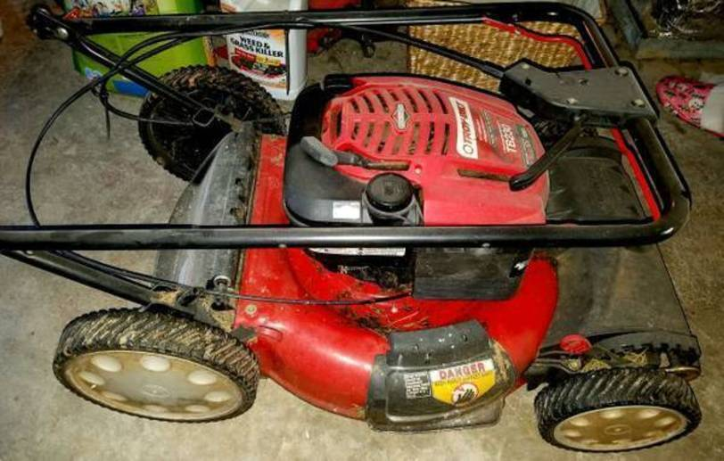 Troy Bilt Self Propelled Lawn Mower For Sale Classifieds