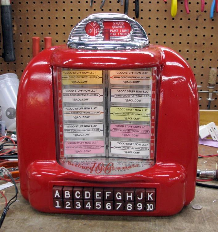 SEEBURG 3W1 JUKEBOX WALLBOX RESTORED - STOCK #5466