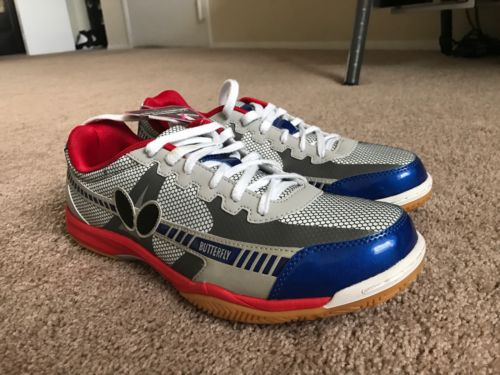 Butterfly Lezoline Table Tennis Shoes Size 12