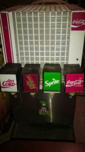 vintage coca cola soda fountain machine
