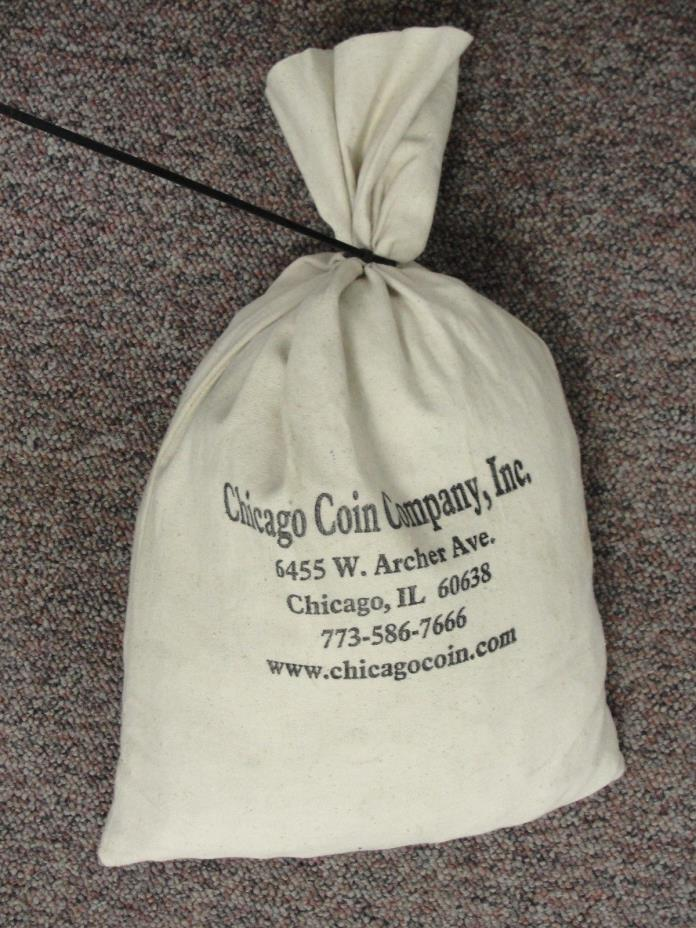 Unsearched Wheat Penny Bag 5000+ 35 Pounds In Chicago Coin Co. Bag
