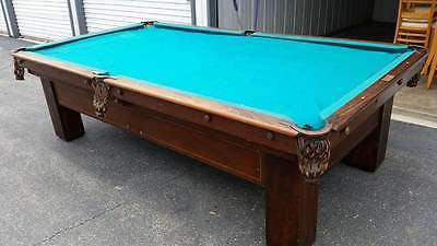 Brunswick Madison Antique 9' Pool Table