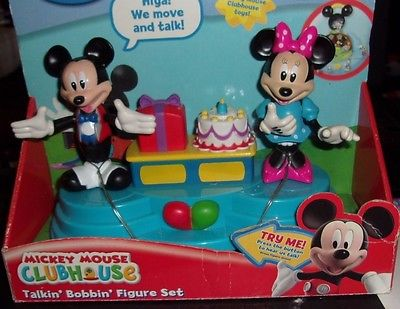 Mickey Mouse Clubhouse Talkin Bobbin Mickey and Minnie Birthday Party