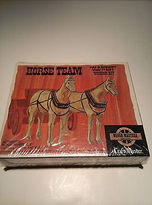 Craft Master Wagon Master Horse Team Old West Wooden kit #50201