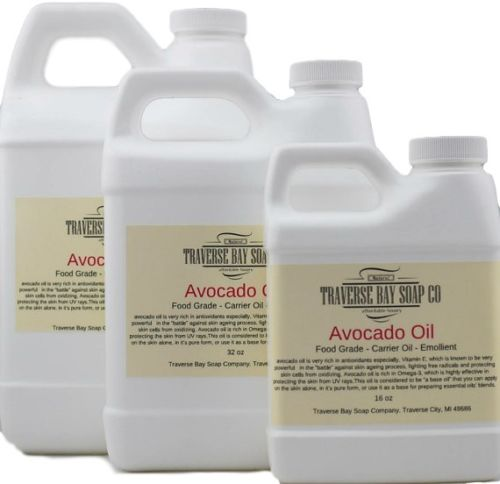 Avocado Oil -   4 oz  Weight -  Soap Making Supplies