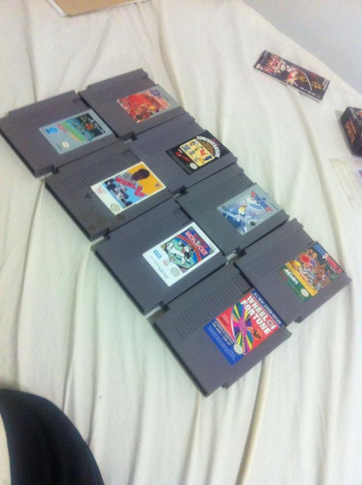 Nes Video Game Lot Of Classics