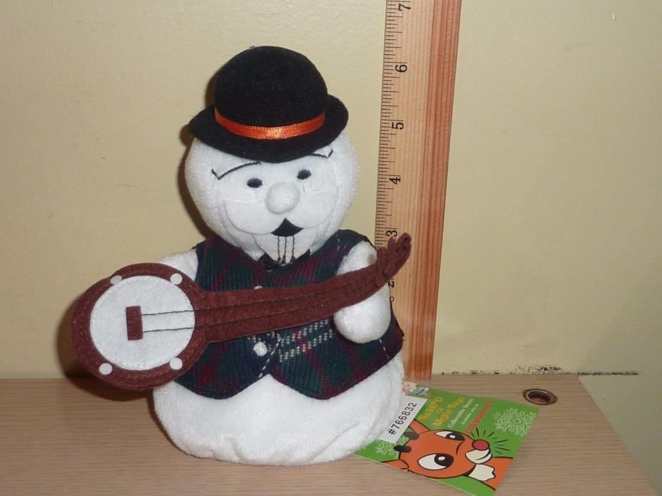 1998 CVS Stuffins Rudolph Island of Misfit Toys Beanbag Plush Sam the Snowman
